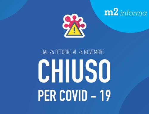 CHIUSO PER COVID-19