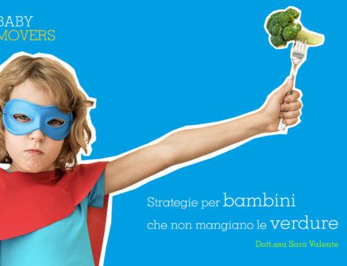 Strategie per bambini che non mangiano le verdure